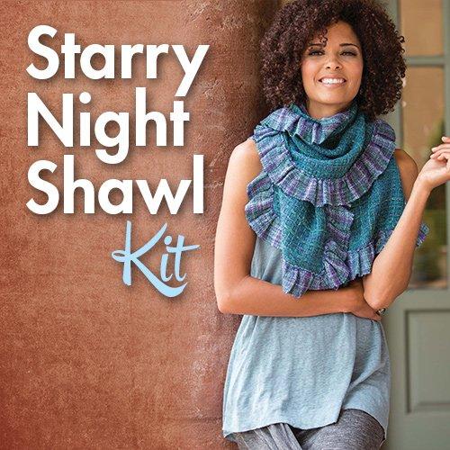 Starry Night Shawl Kit (Class Essential)