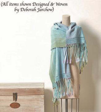 Summer Breeze Shawl Kit by Deborah Jarchow