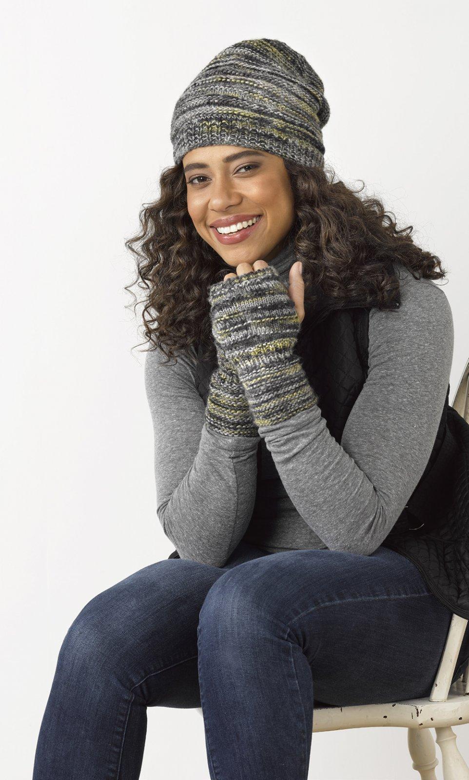 Ashton Hat & Mitts  Kit (Stacy Charles)
