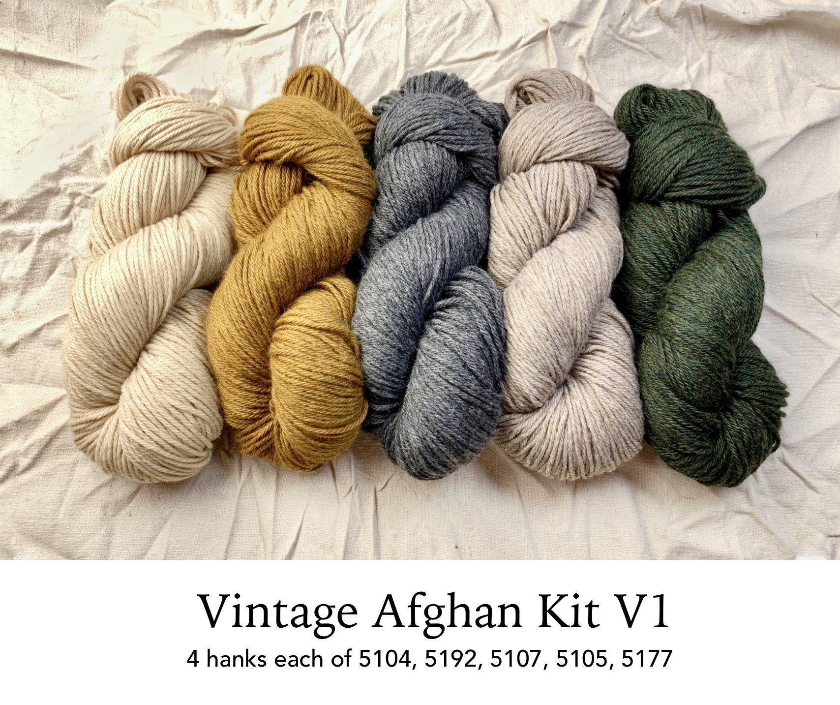 Vintage Afghan by Norah Gaughan (Berroco Drop Ship Program)