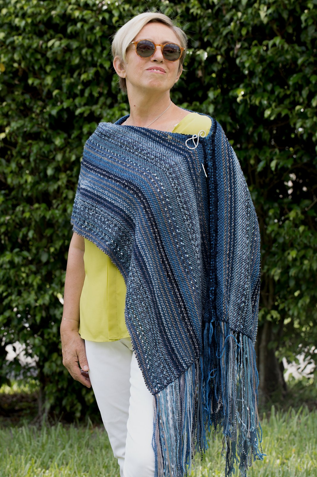 BoHo Shawl/Poncho Kit by Deborah Jarchow (A SHEEP THRILLS EXCLUSIVE)