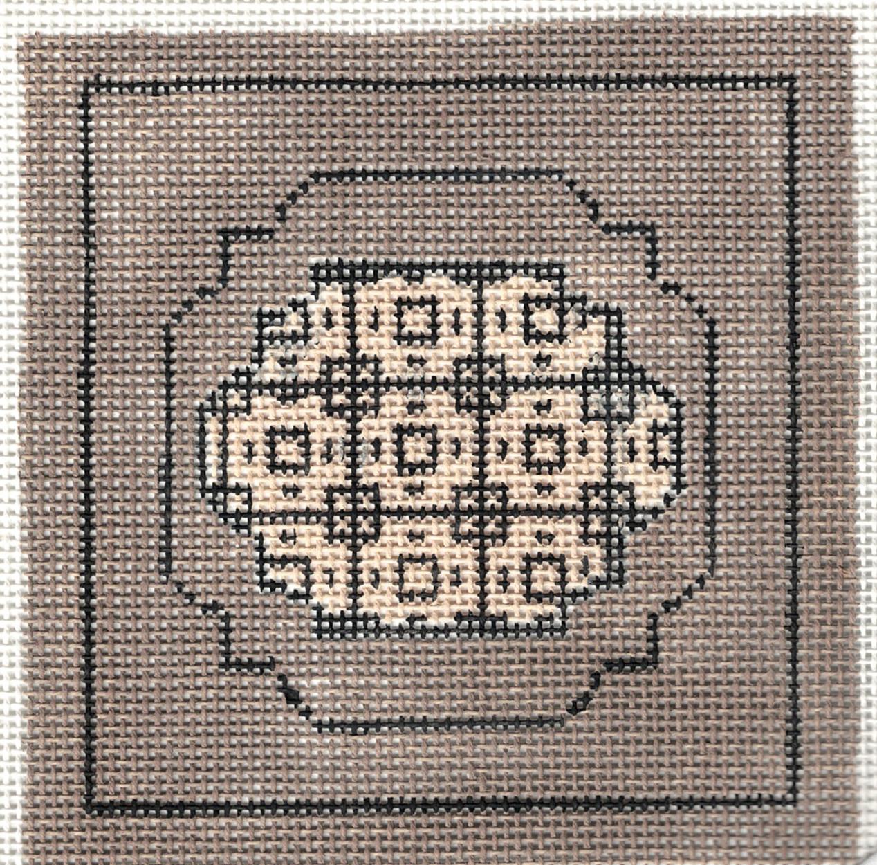 Geometric Double Squares Coaster - 18M