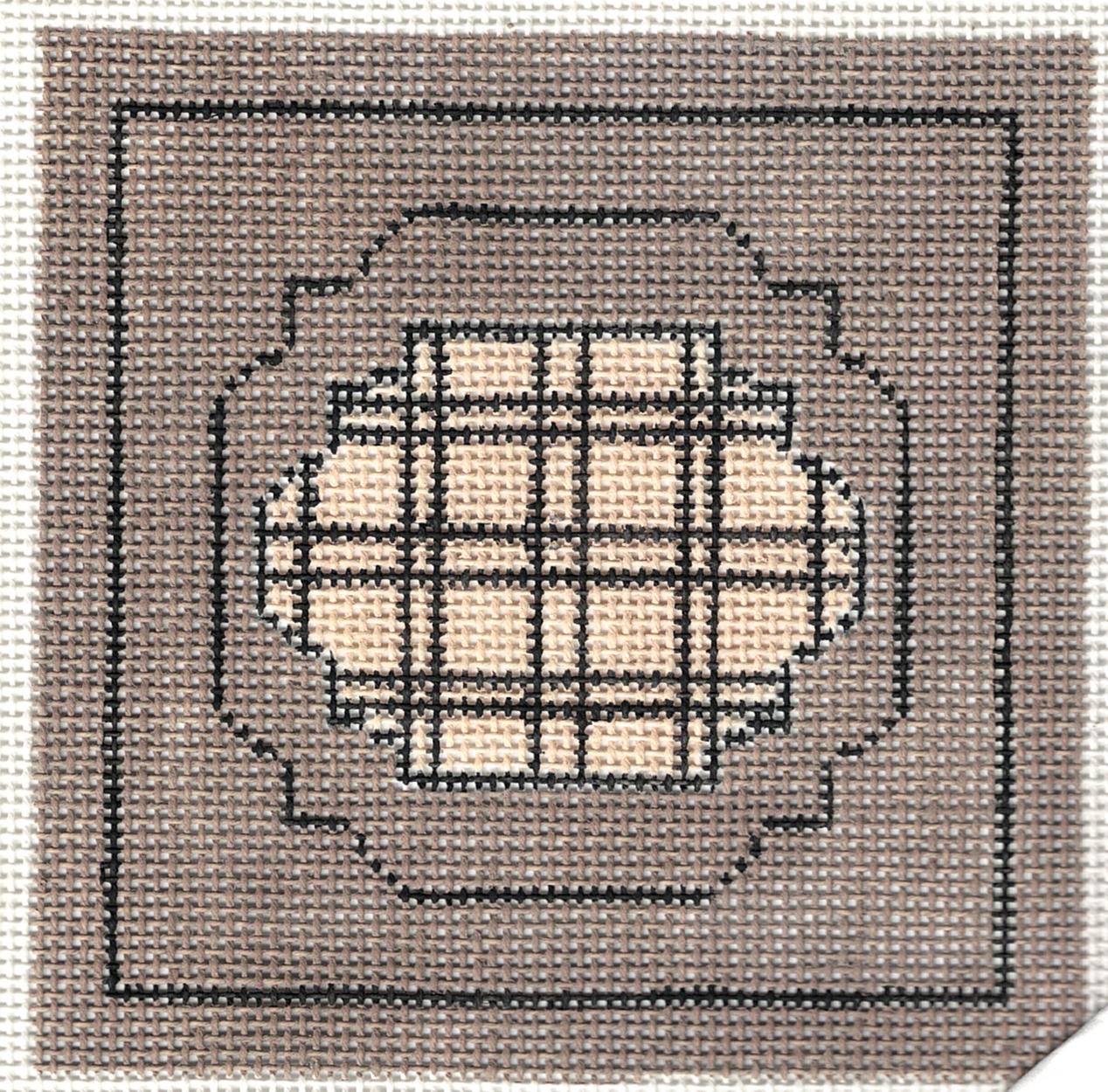 Geometric Squares Coaster - 18M
