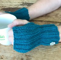 Judy's Fingerless Mitts Pattern