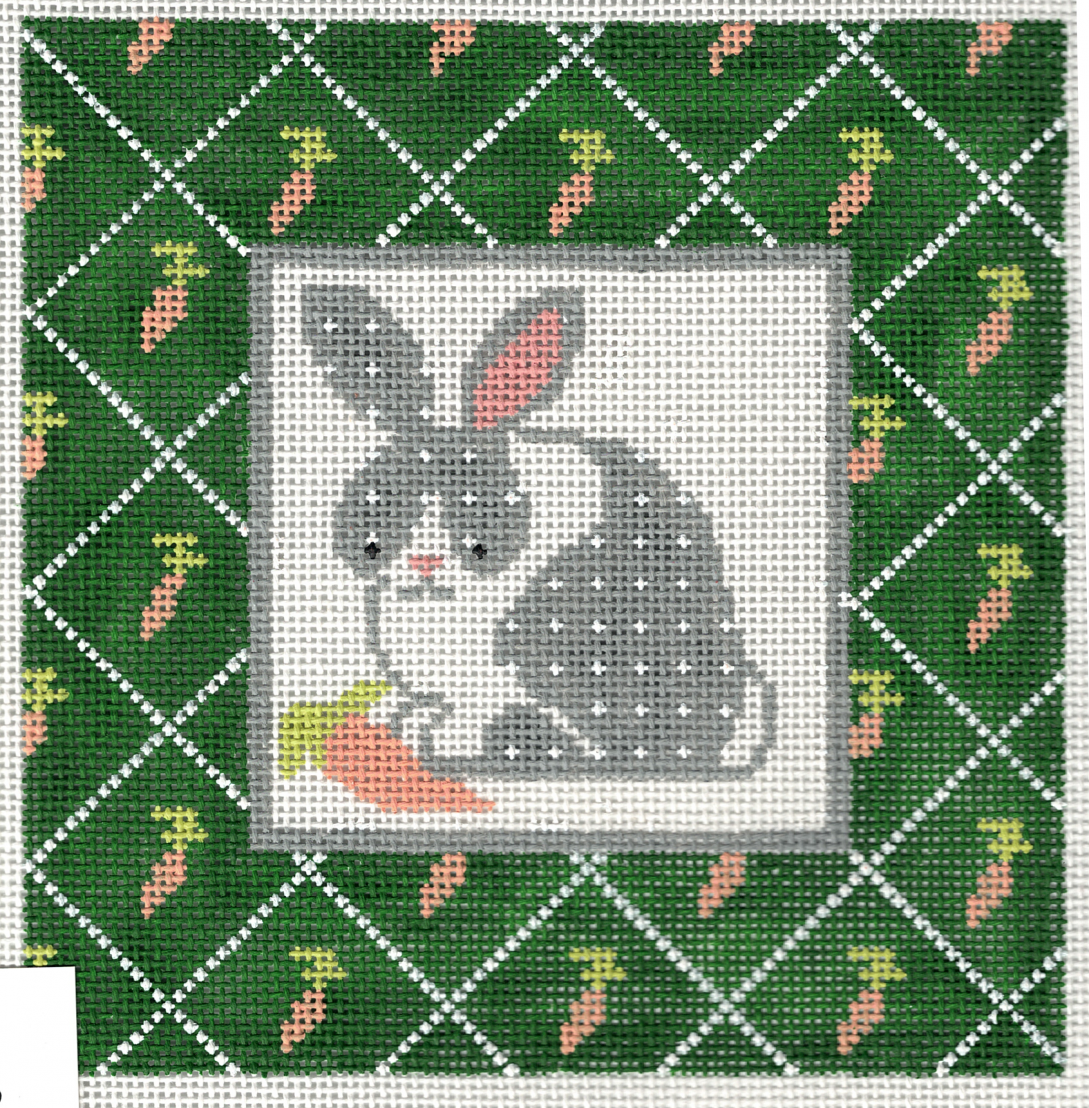Bunny with Carrot Border - 13M