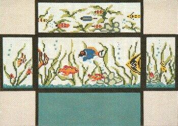Fish Tank Brick Cover