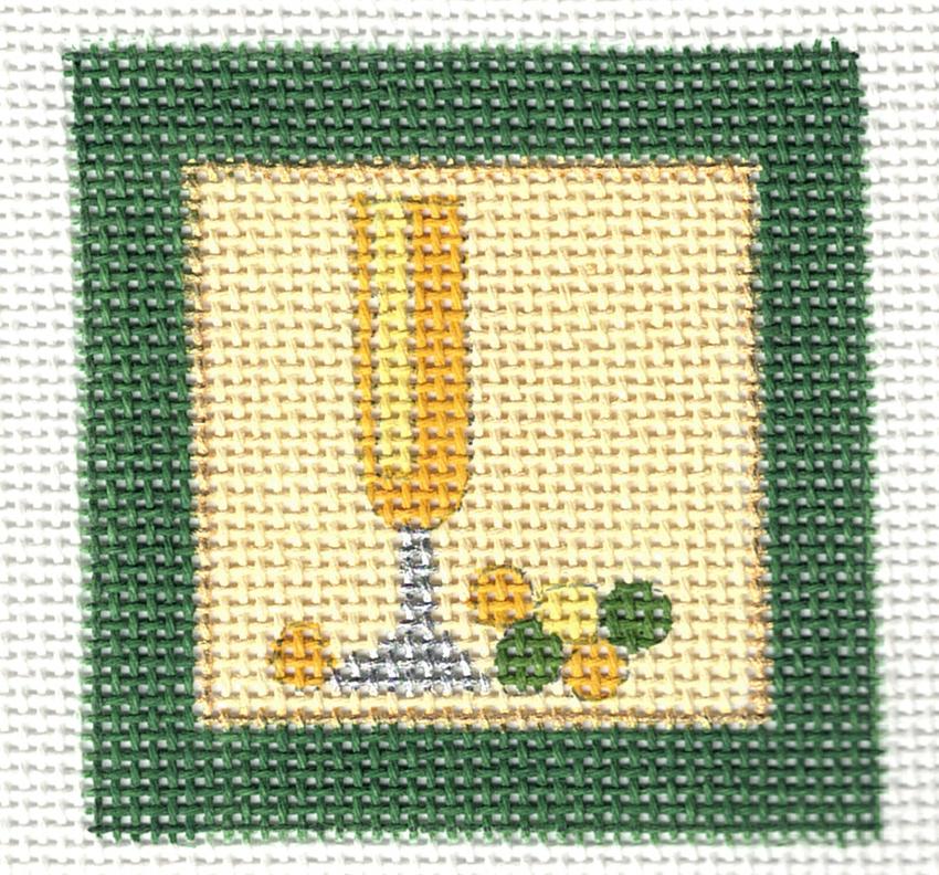 Small Champagne Square - 18M