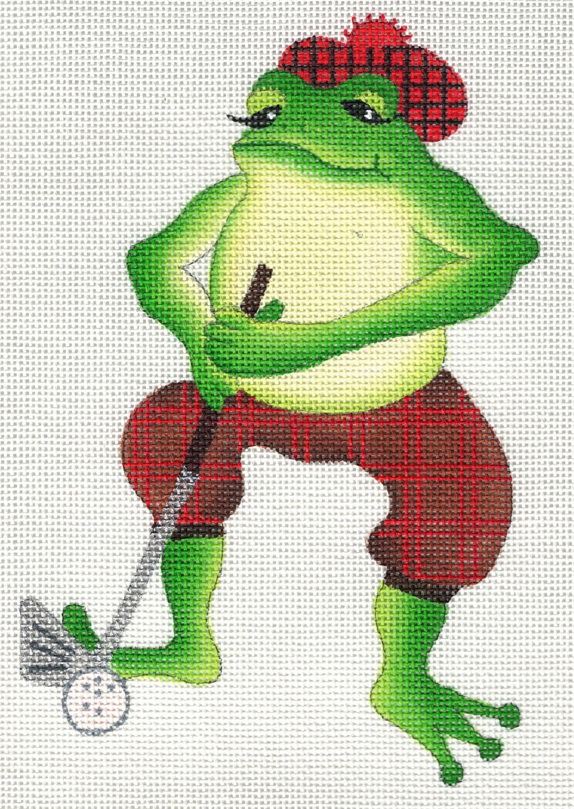 Golfing Frog - 18M