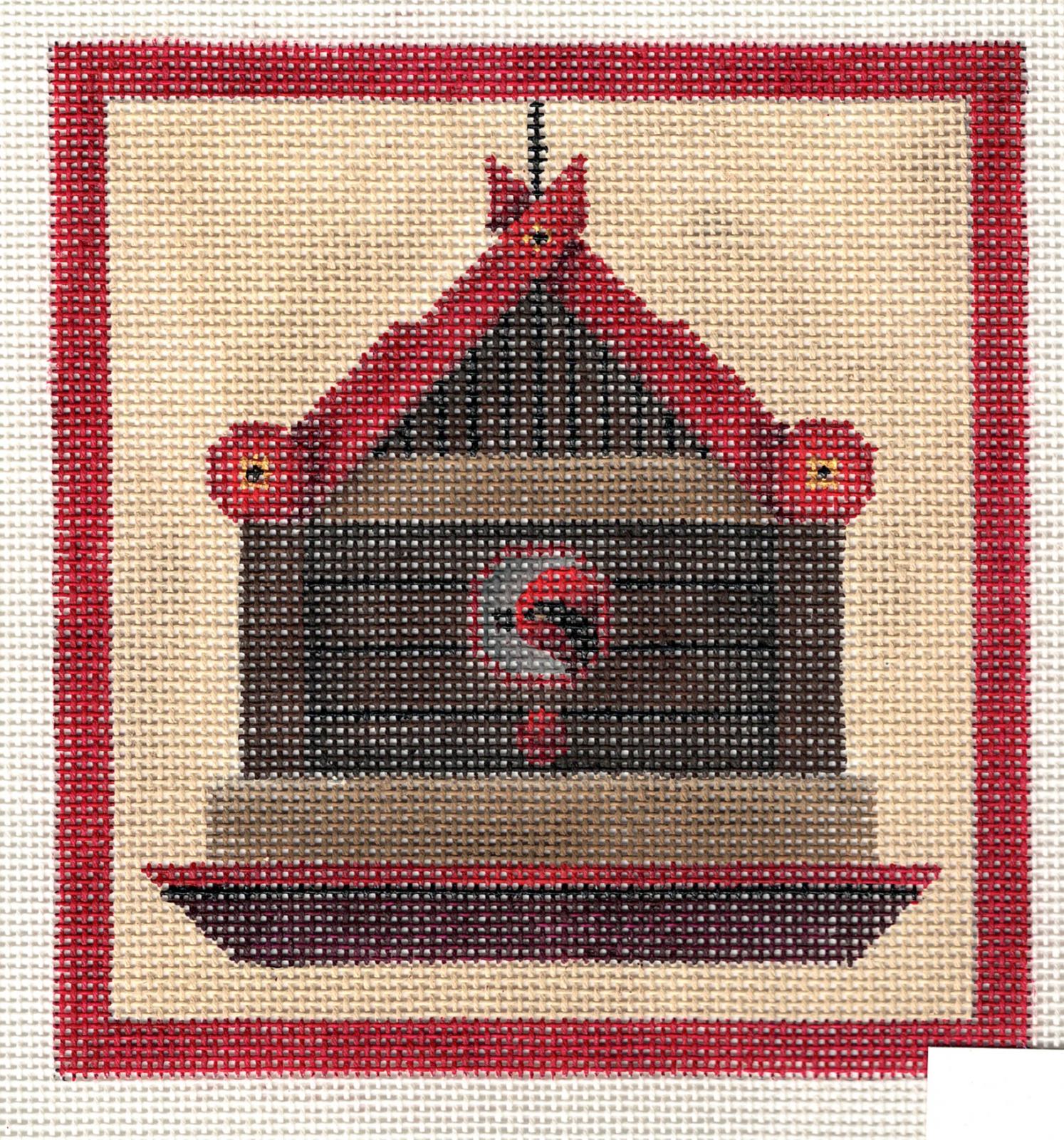 Cardinal Bird House - 18M