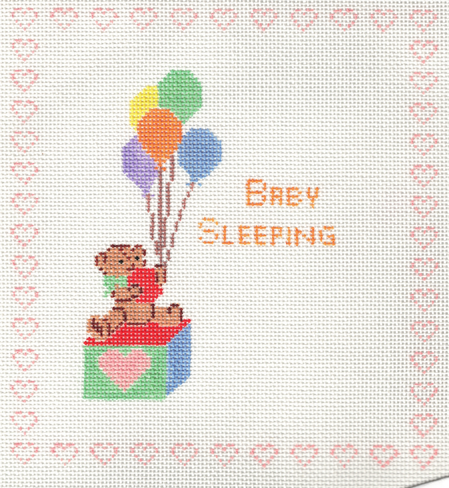 Teddy Bear Baby Sleeping - 18 M