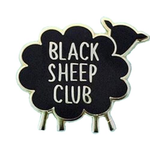 Black Sheep Club Pin