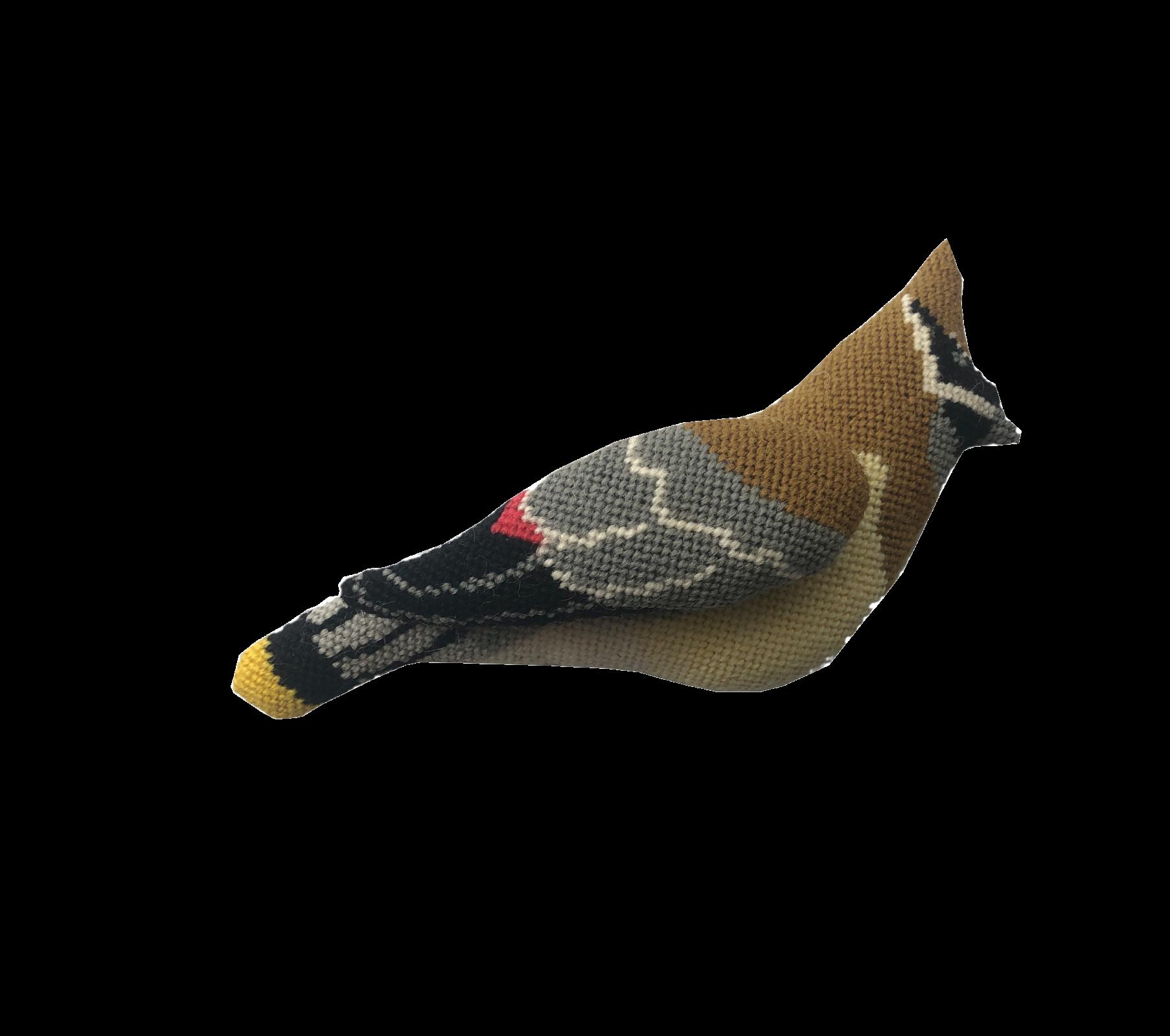 A Bird in Hand - Cedar Waxwing
