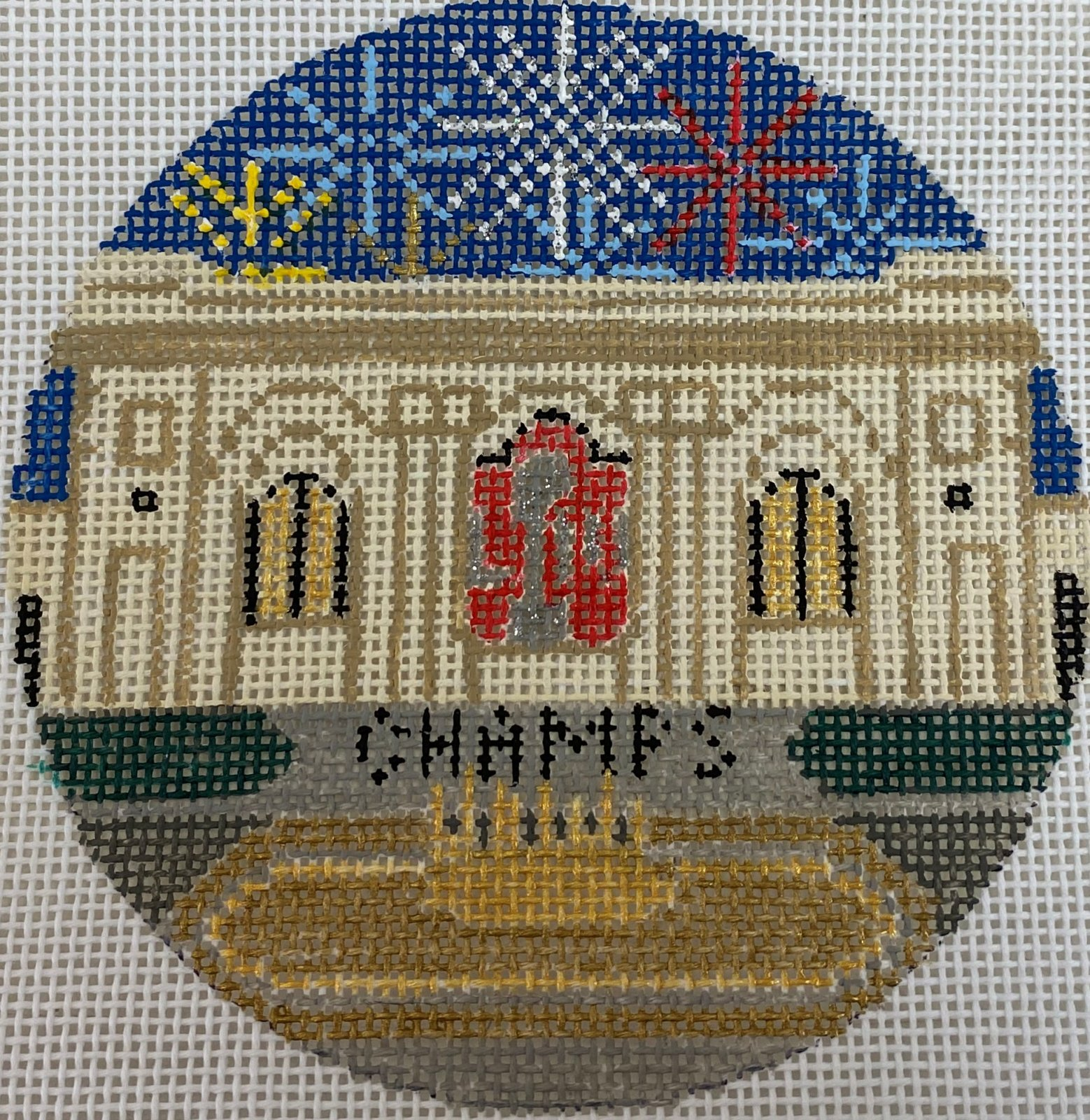 Chiefs Union Station Ornament