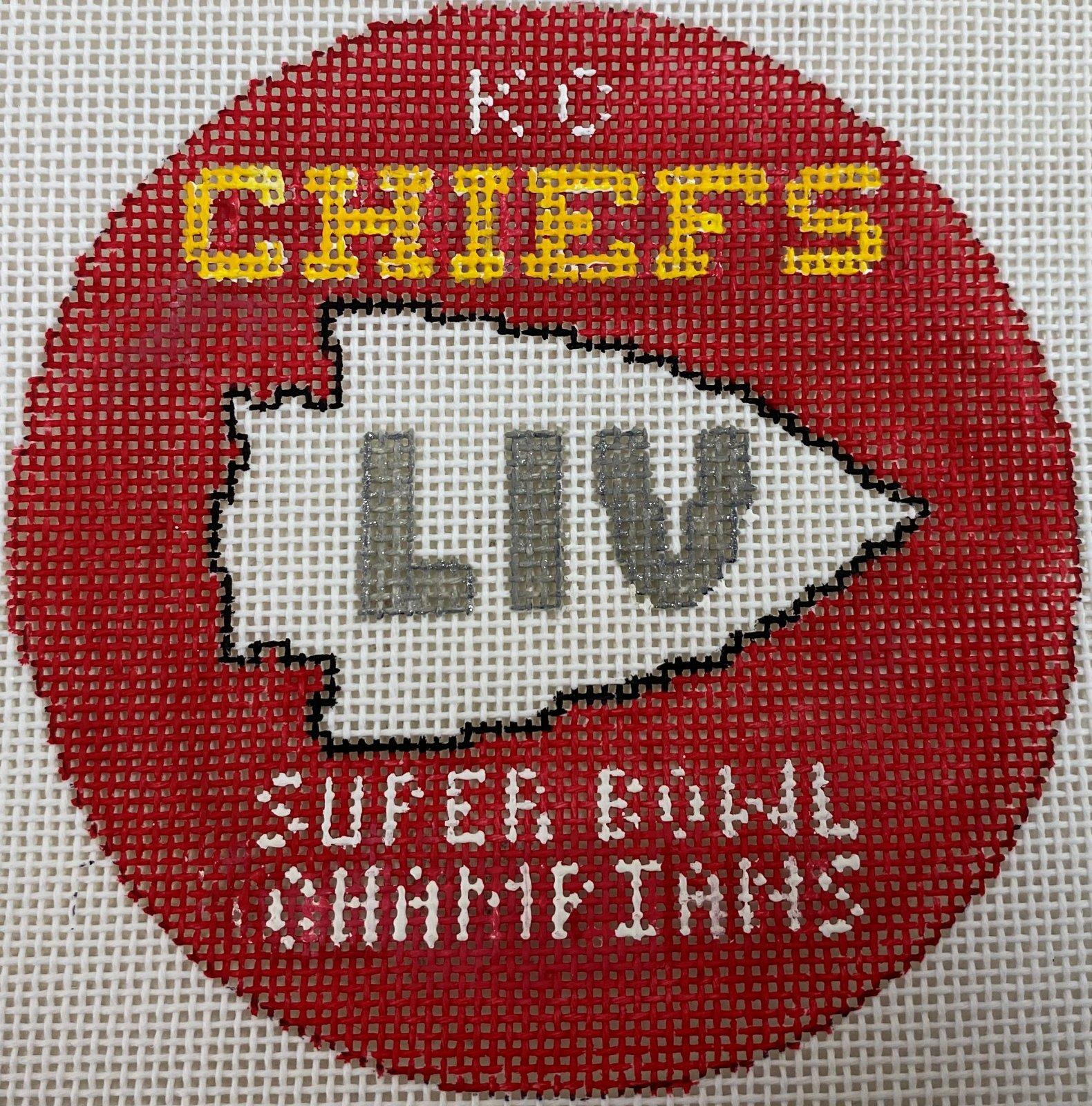 Chiefs LIV Logo Ornament