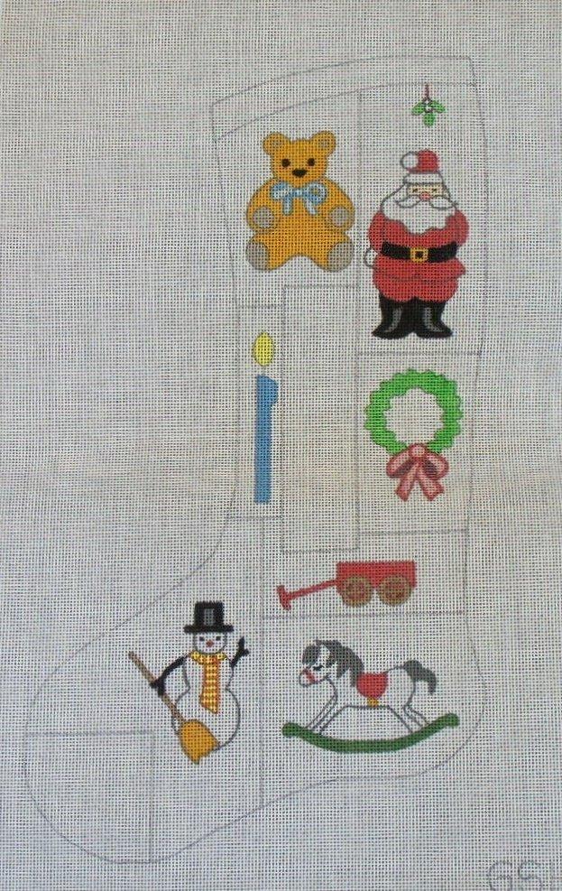 Christmas Icons Stocking - 13M