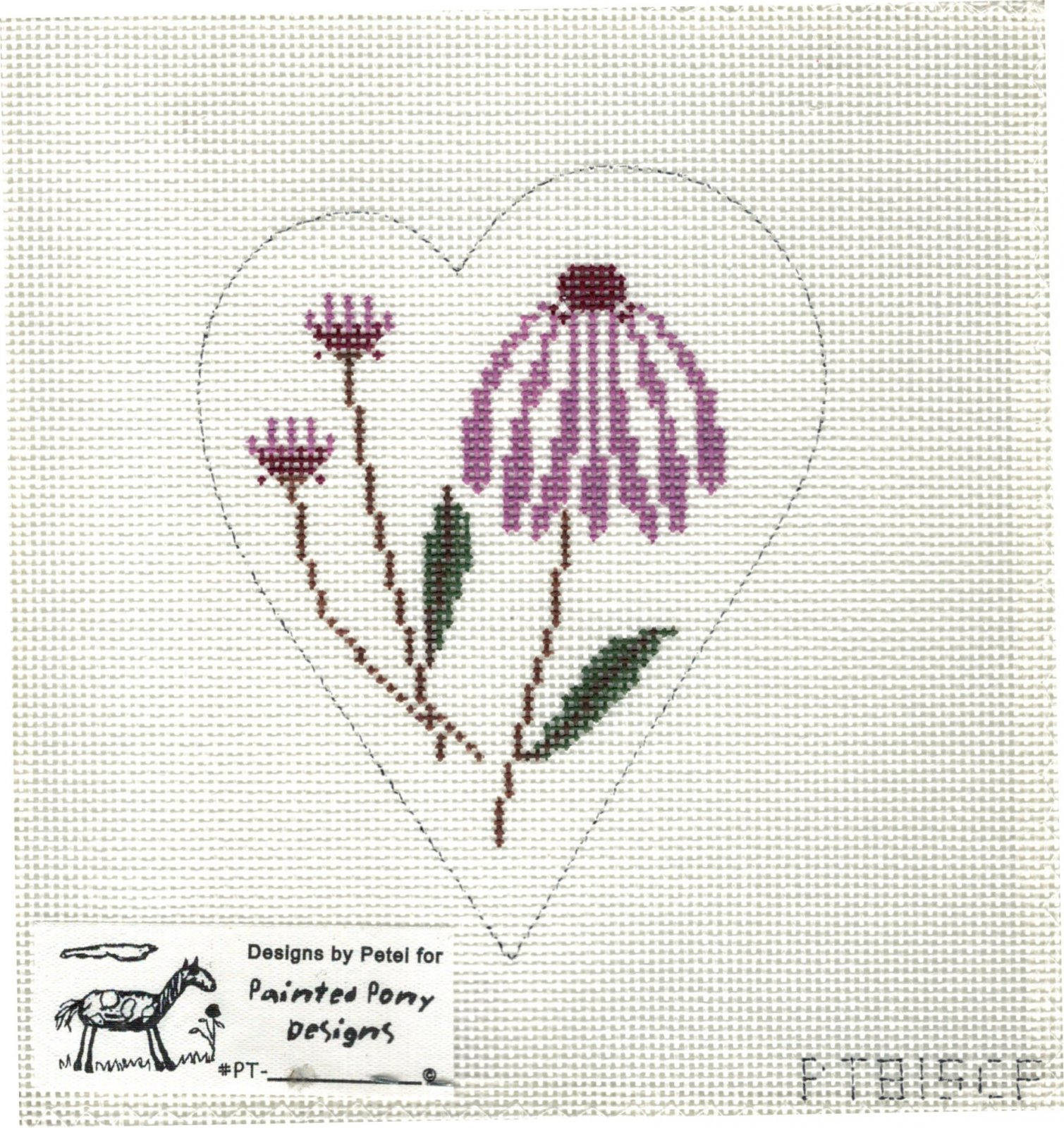 Cone Flower Heart