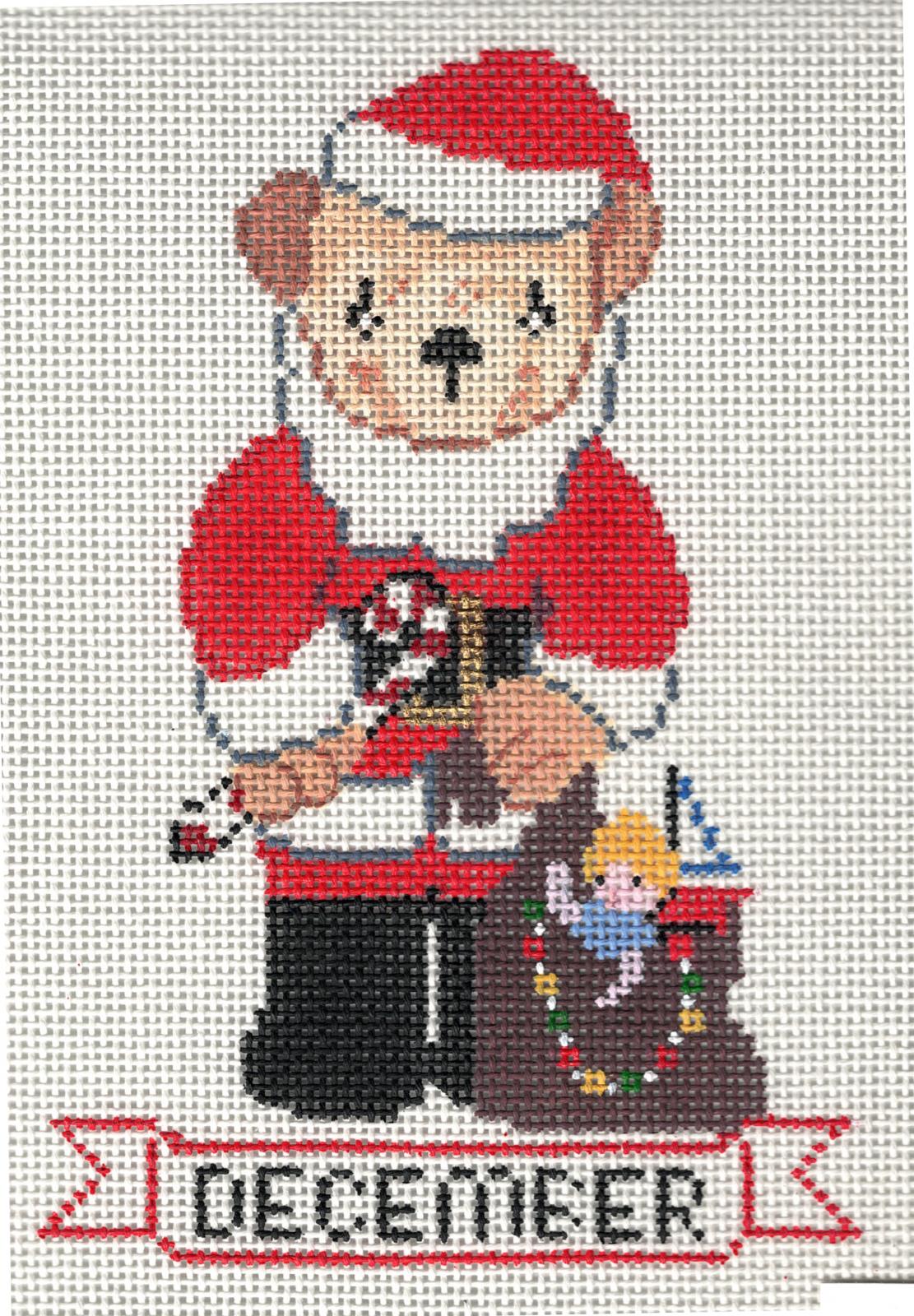 December Santa Bear - 13M