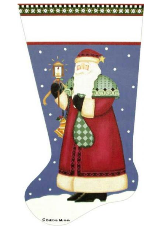 Basket Santa Stocking