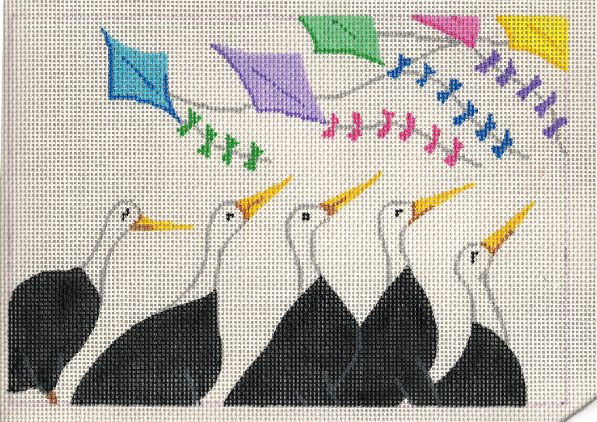 Geese and Kites