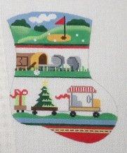 Golf Mini Stocking Ornament - 18M