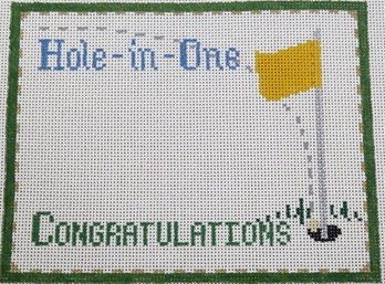 Hole In One Congratulations