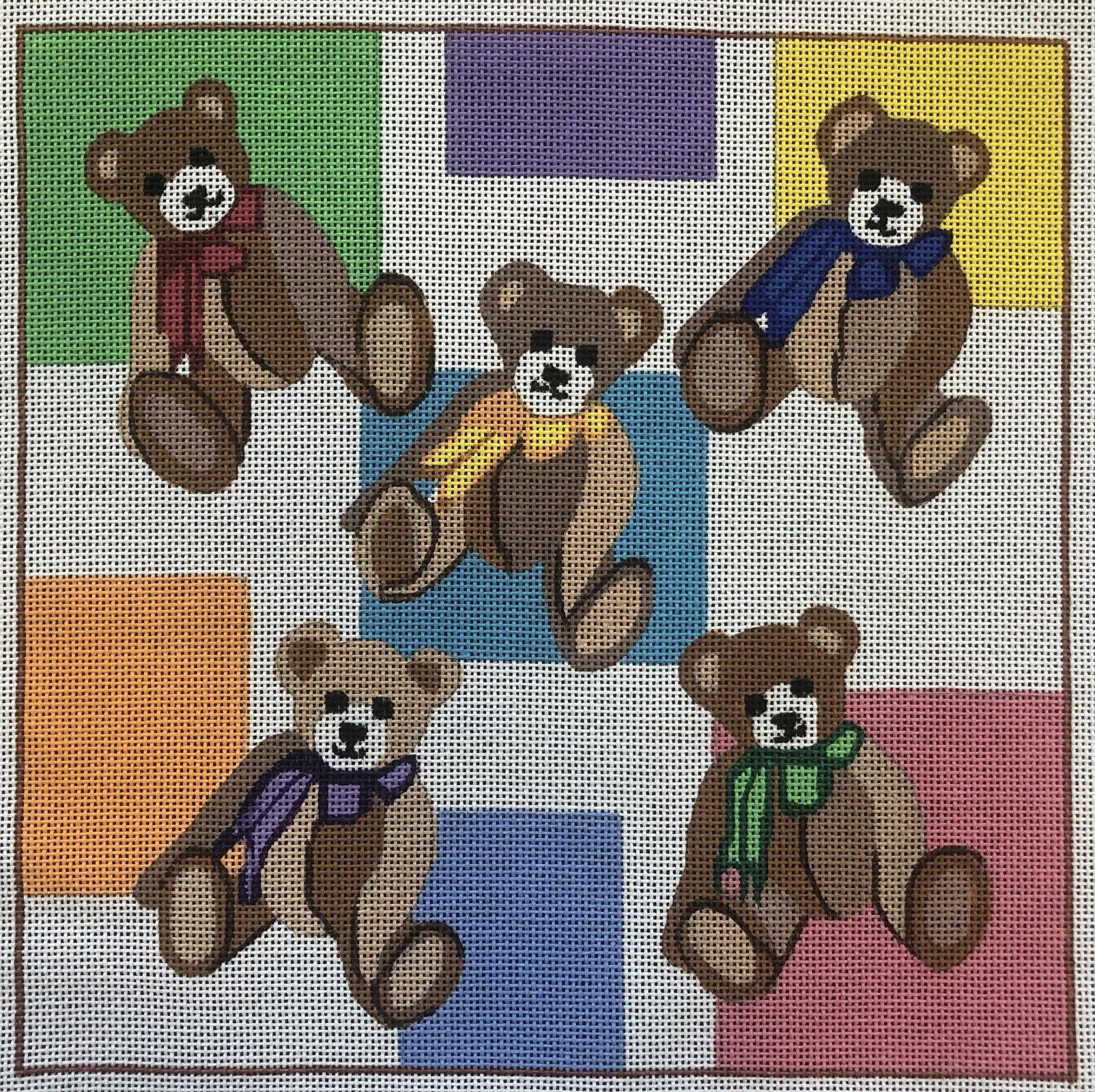 Five Teddy Bears - 13M