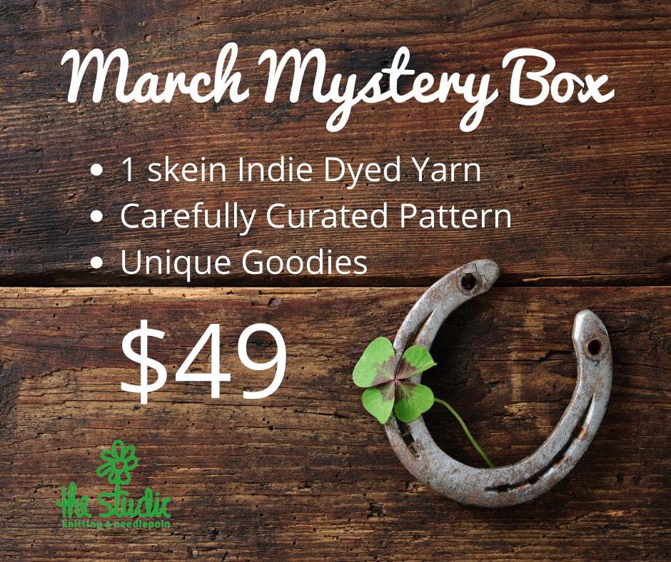 March Mystery Box - Yarn