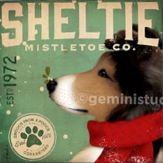 Mistletoe Co Sheltie