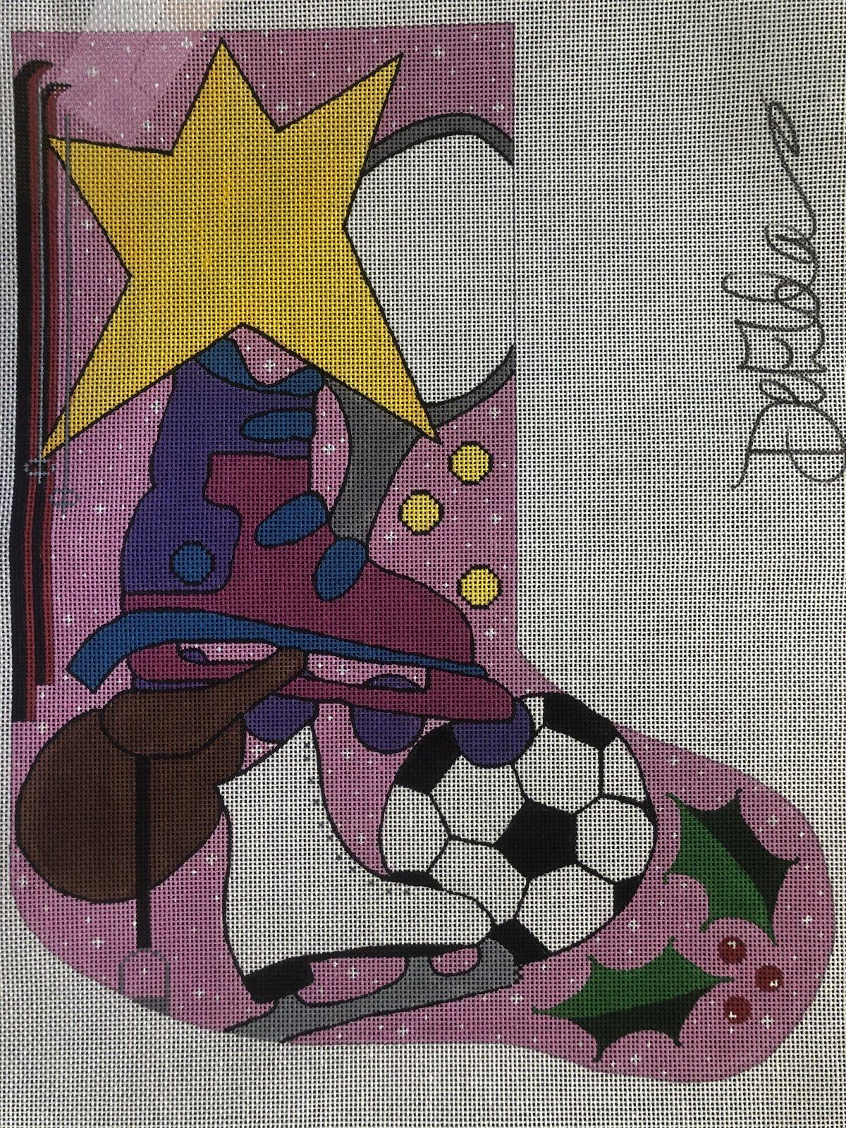 Pink Sports Stocking - 13M