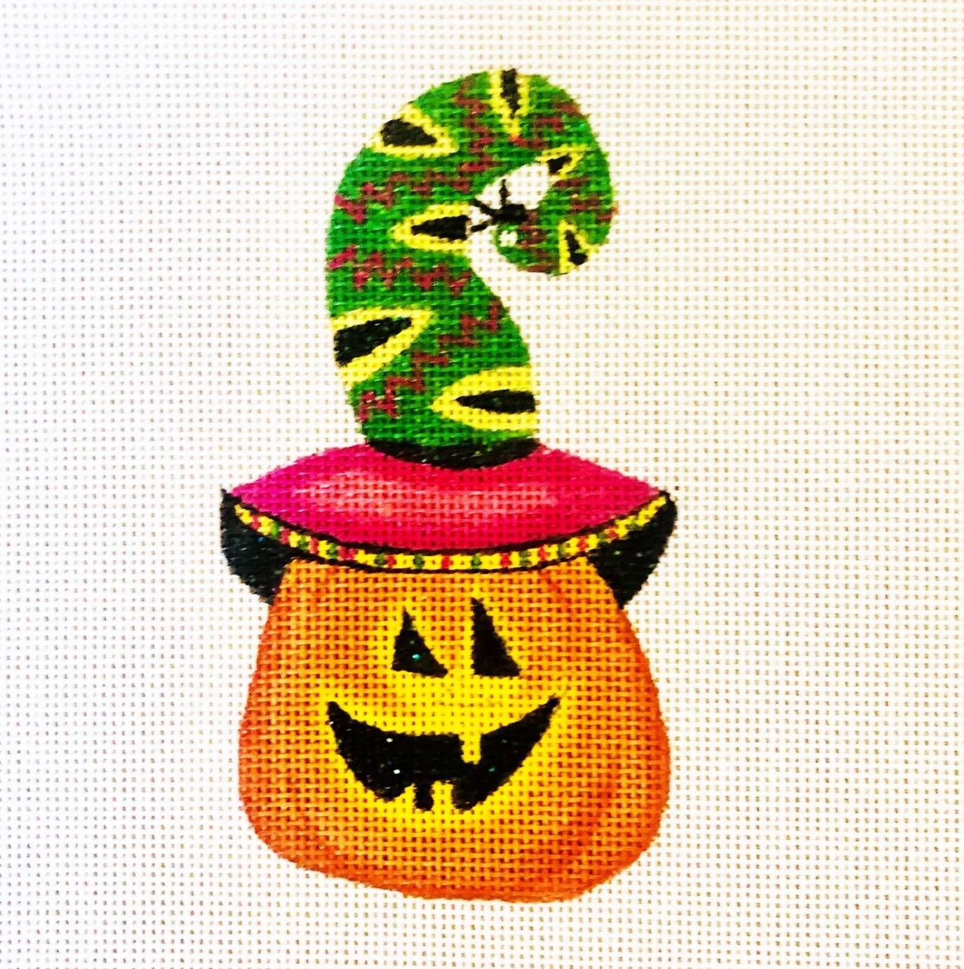 Pumpkin with Snake Hat - 18M