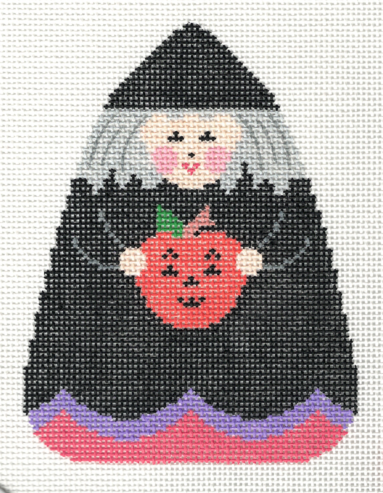 Witch with Pumpkin - 18M