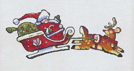 Santa in Sleigh - 18M