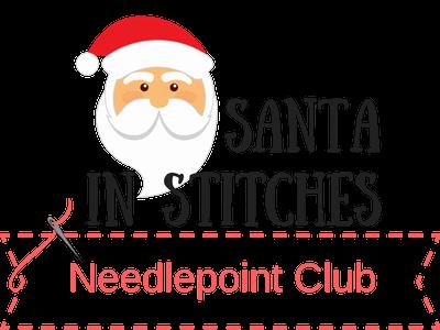 Santa In Stitches Needlepoint Club