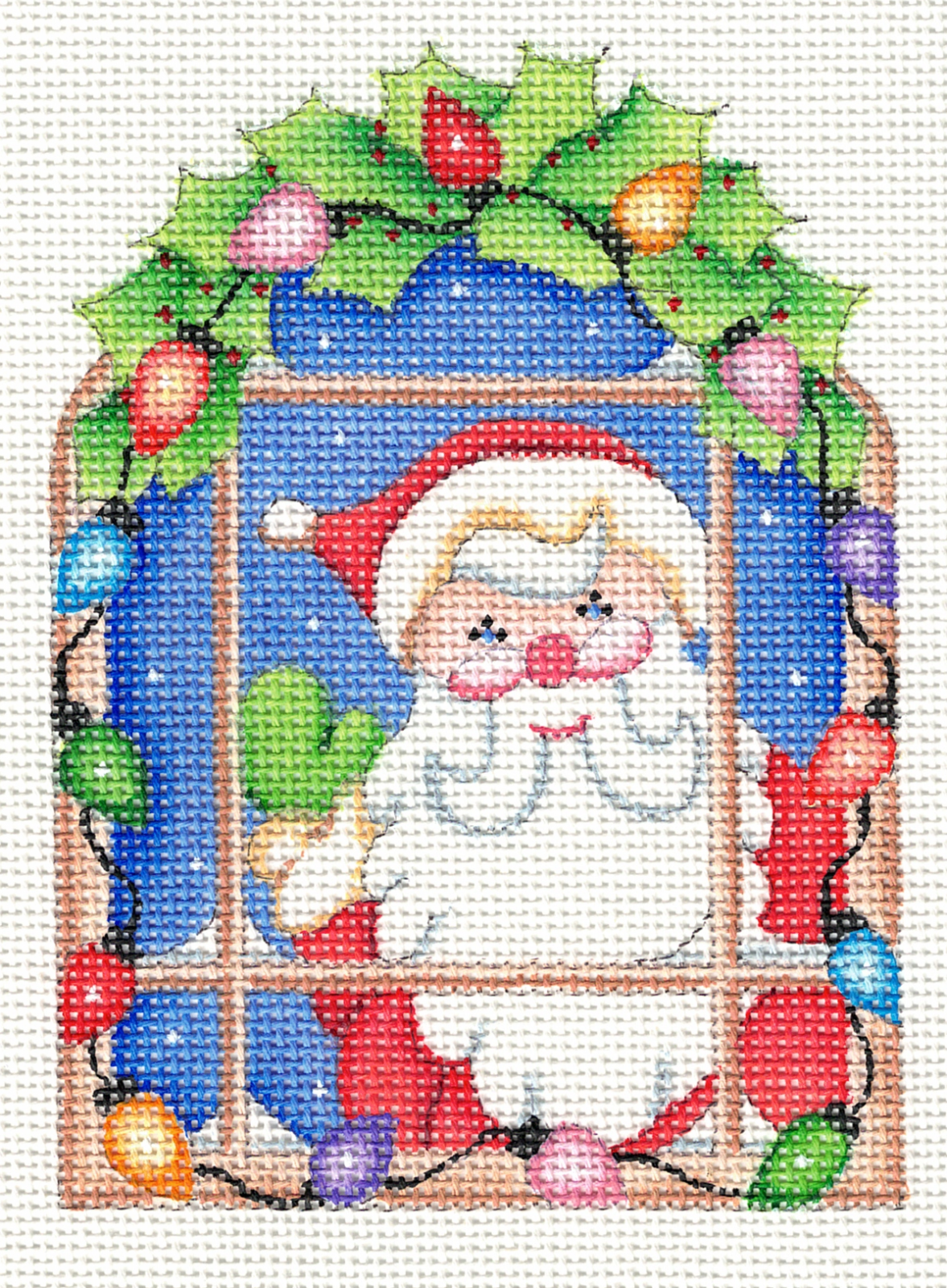 Santa at Window - 18M