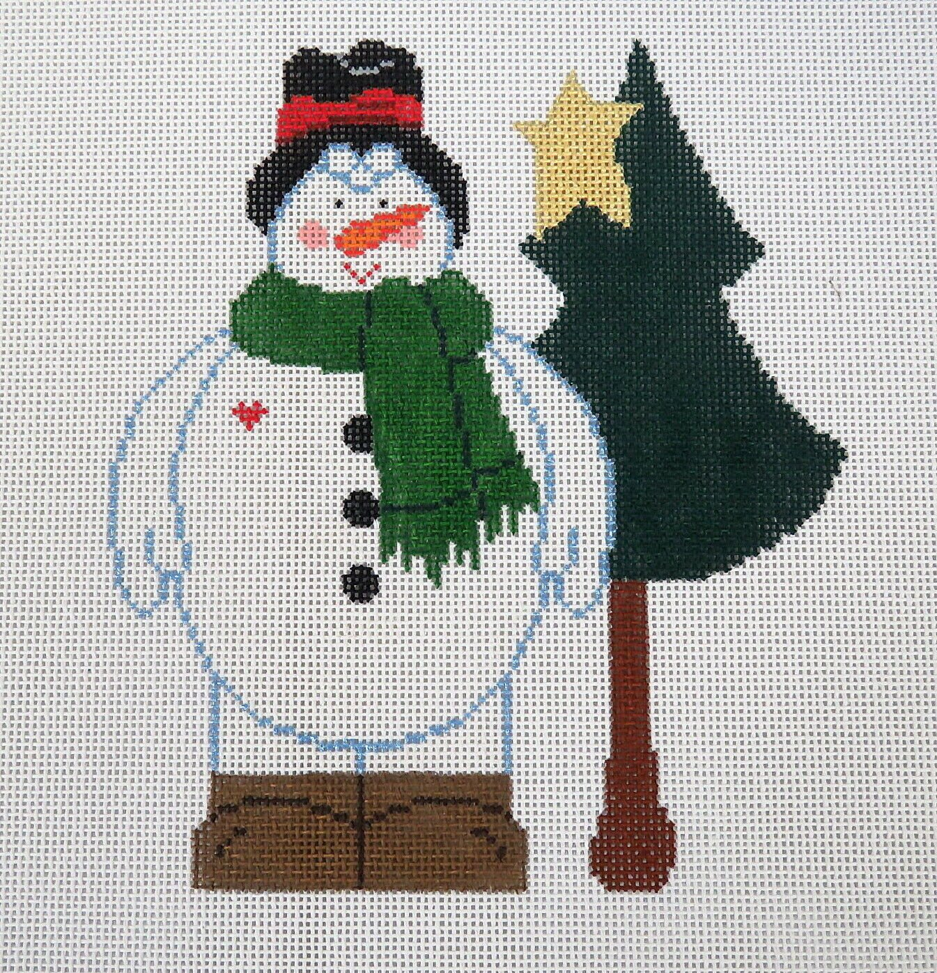 Snowman with Tree - 18M