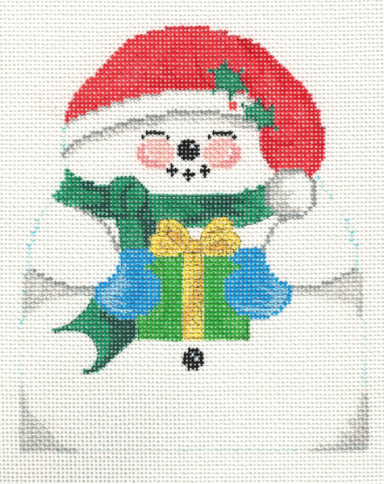 Snowman with Gift - 18M