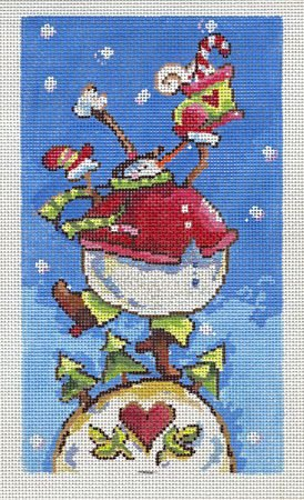Dancing Snowman - 13M
