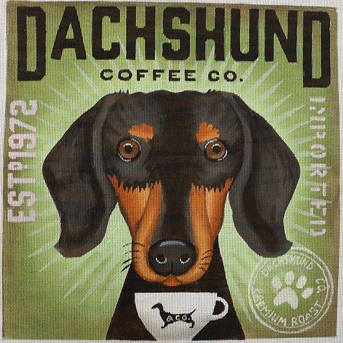 Coffee Co Dachshund