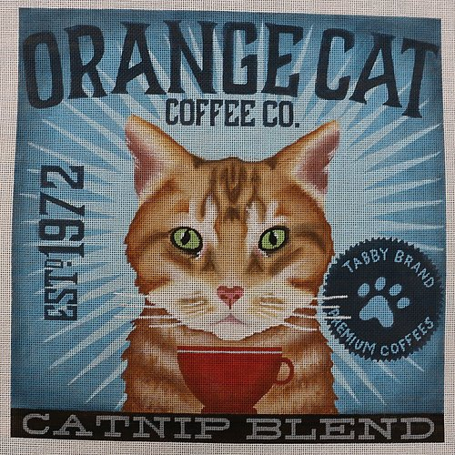 Coffee Co Orange Cat