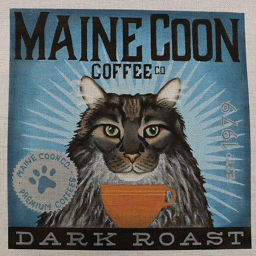 Coffee Co Maine Coon