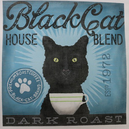 Coffee Co Black Cat