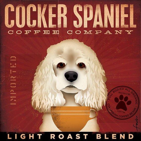 Coffee Co Cocker Spaniel