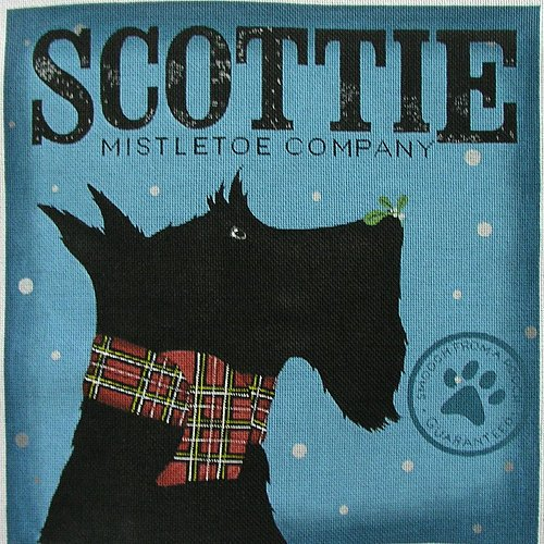 Mistletoe Co Scottie
