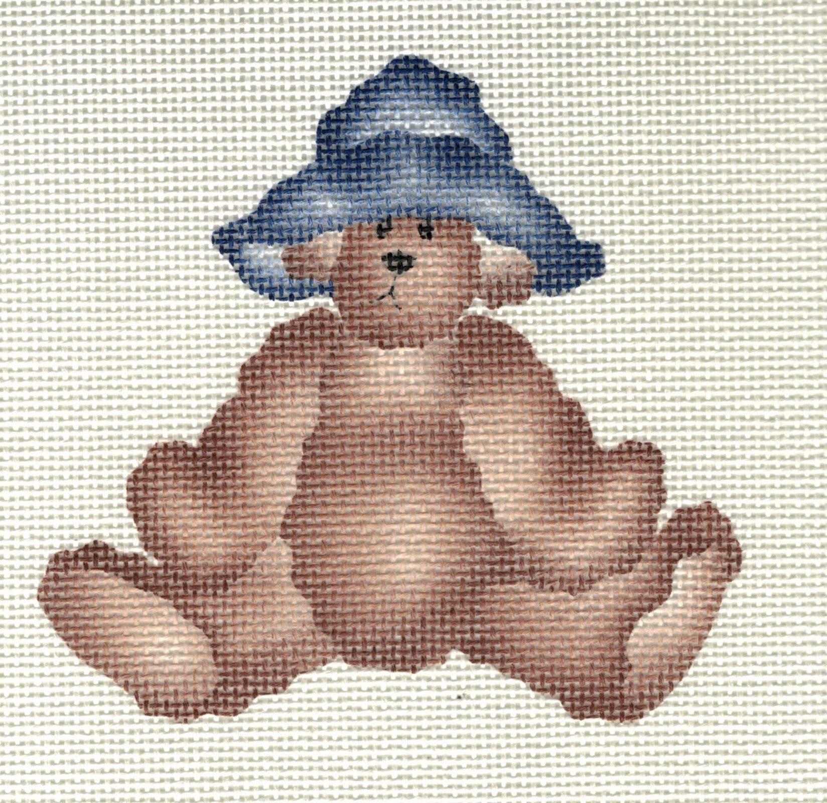 Teddy Bear with Blue Hat