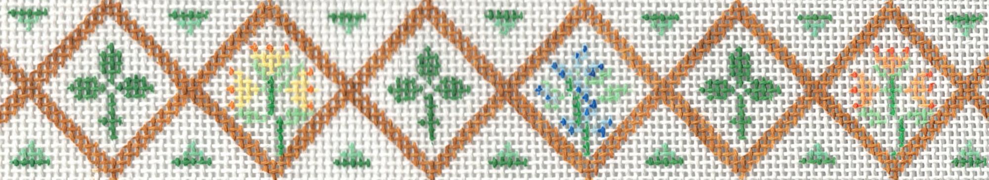 Flower Tiles Belt - 18M