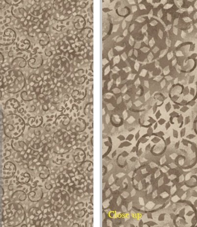 Essentials 26035-219 Taupe Vine