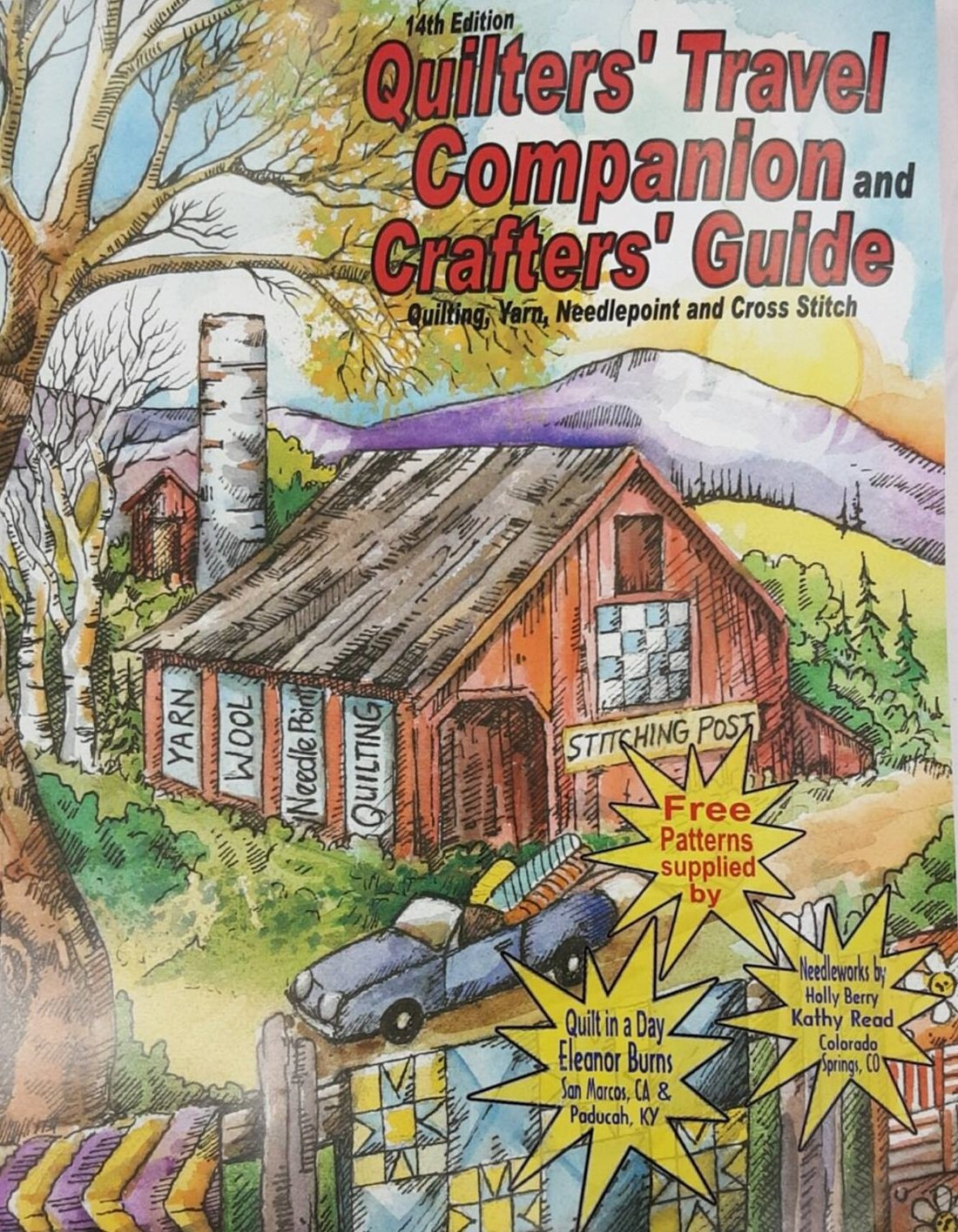 Quilter's Travel Companion, 14th Edition