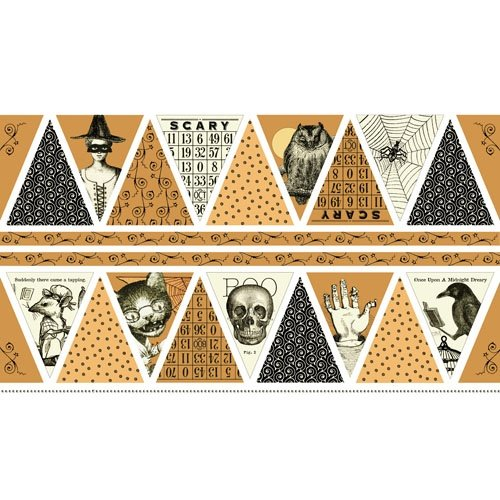 Sew Scary Bunting Panel