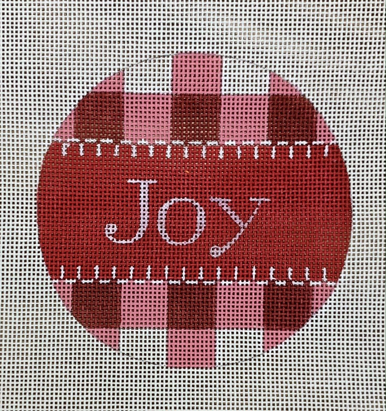 Joy - Red Gingham