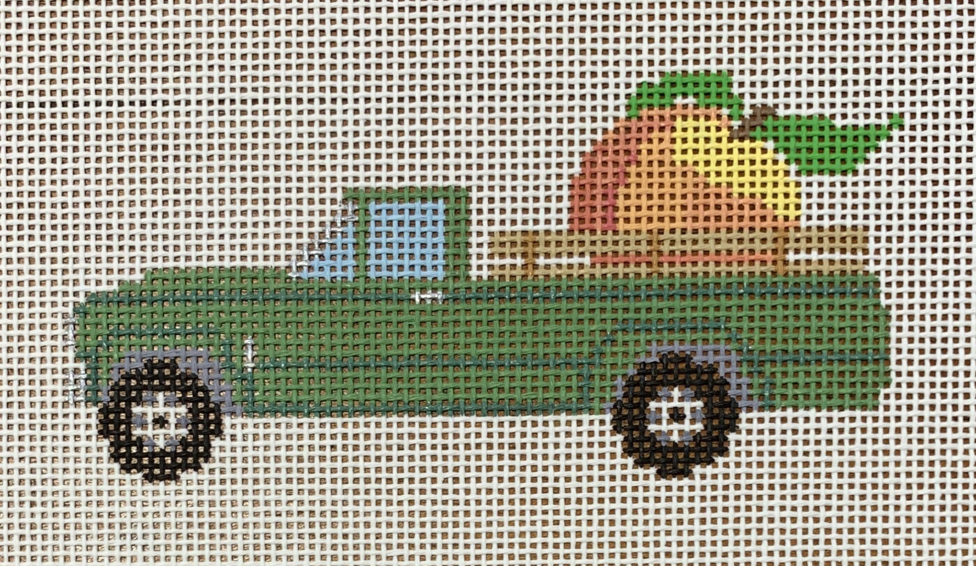 Peach Truck